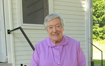 Sister Frances Carr, one of the last remaining Shakers, died January 2, 2017. (Courtesy Sabbathday Lake Shaker Village website)