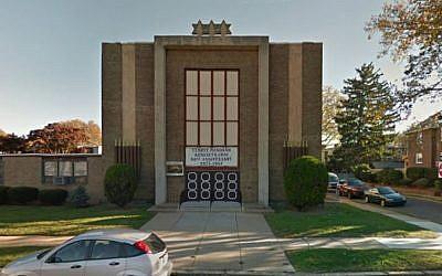 Temple Menorah Keneseth Chai in Philadelphia. (Google Maps)