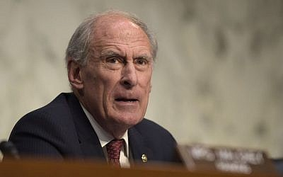In this Nov. 17, 2016 file photo, then-Indiana Sen. Dan Coats on Capitol Hill in Washington. President-elect Donald Trump is planning to appoint former Coats as Director of National Intelligence. (AP/Susan Walsh)