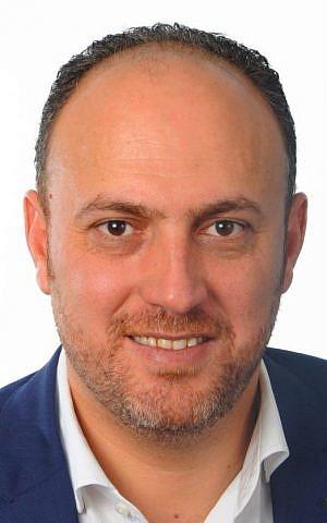 Dr. Husam Zomlot, a senior political advisor to PA President Mahmoud Abbas. (Courtesy)