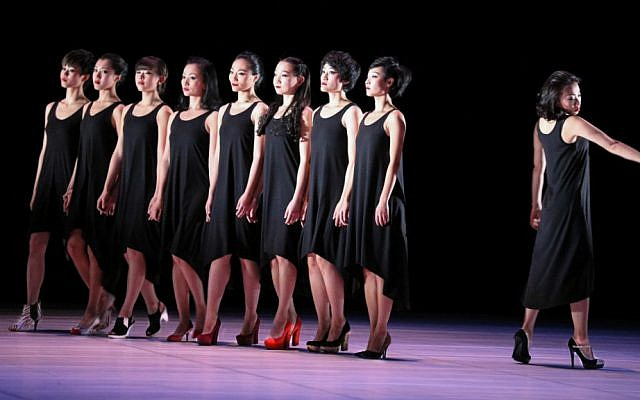 The Jin Xing dance troupe comes to Israel to mark 25 years of diplomatic relations between Israel and China (Courtesy Ya Shen)