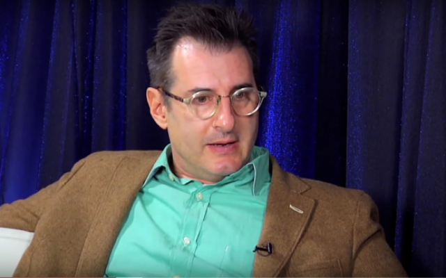 Screen capture from an interview with playwright t Jon Robin Baitz, 2011. (Screen capture: YouTube/Braodwaycom)