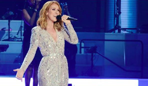 Celine Dion in concert (Courtesy official Celine Dion Facebook page)