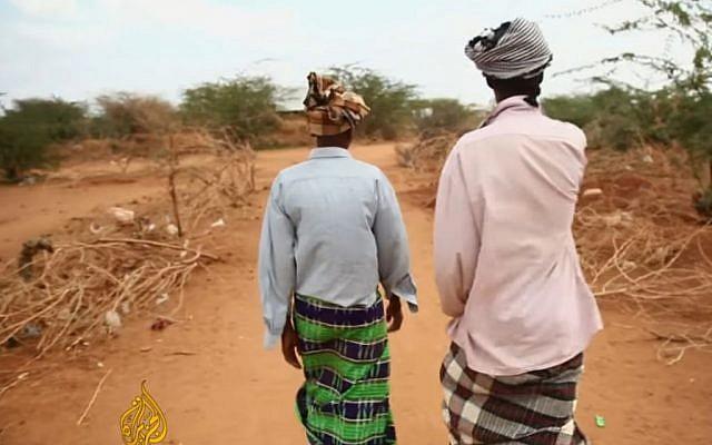 Drought in Somalia January 2017 (Screen capture: YouTube)