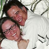 The late Fred Turbide, who took his own life after he was fleeced by an Israeli binary options firm, with his wife Maria Chaves-Turbide (Courtesy)