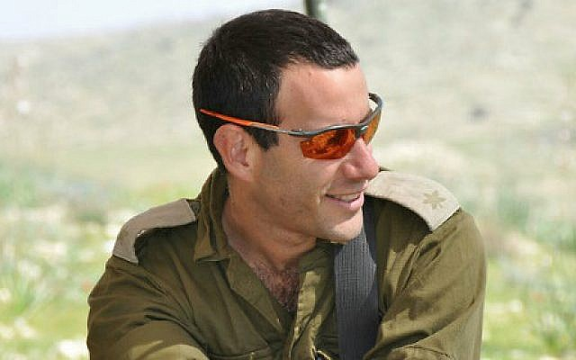 Maj. Hagai Ben Ari, who was critically wounded on July 21, 2014, during Operation Protective Edge in Gaza, died Tuesday, January 3, 2017. (Courtesy)