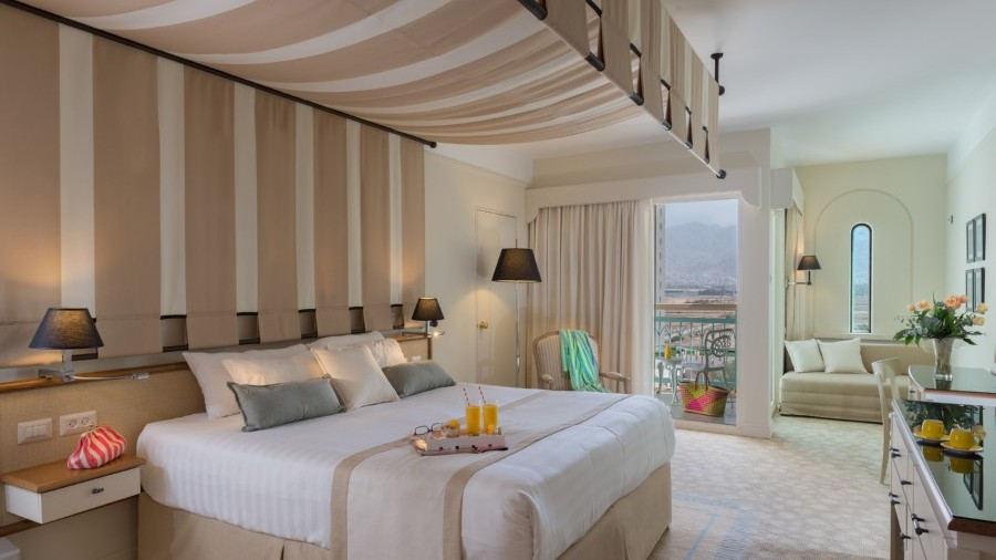 A Guest Room At The Herods Vitalis Spa Hotel Eilat