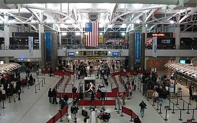Terminal 1 at JFK Airport (Wikimedia Commons, Doug Letterman, CC BY 2.0)