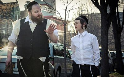 Actor and comedian Menashe Lustig in 'Menashe.' (courtesy)