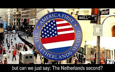 Screen shot from a spoof promotional video for the Netherlands from the Dutch television talk show 'Sunday with Lubach.' (YouTube screen capture)