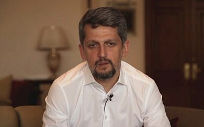Turkish Member of Parliament for the Peoples' Democratic Party (HDP) Garo Paylan (YouTube screenshot)