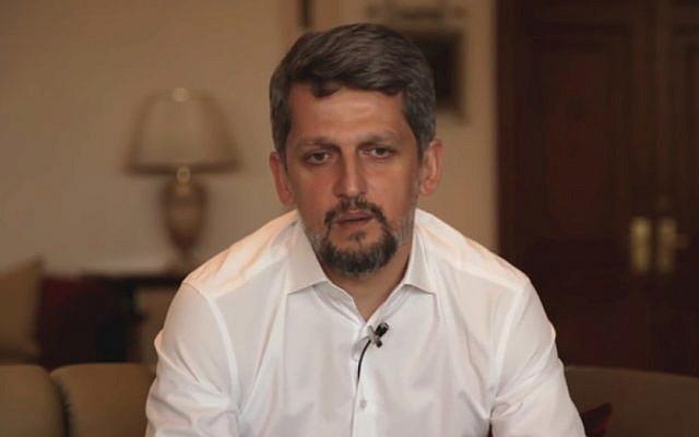 Turkish Member of Parliament for the Peoples' Democratic Party (HDP) Garo Paylan (YouTube screenshot)