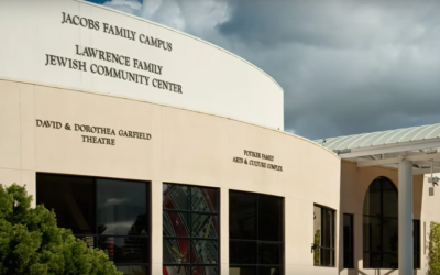 A view of the Lawrence Family JCC in San Diego (Screenshot from YouTube)