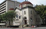 Sixth & I, a nondenominational synagogue, in Washington, DC. (Courtesy of Sixth & I /via JTA)