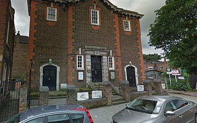 South London Liberal Synagogue (Screen capture: Google maps)