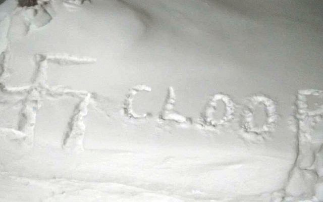 B'nai Brith Canada's Sara McCleary found this on her lawn. (Sara McCleary)
