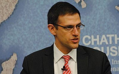 Adam Szubin, shown here in 2015, helped craft the Iran deal. (Flickr Commons via JTA)