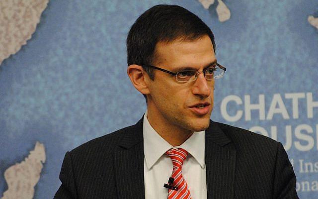 Adam Szubin, shown here in 2015, helped craft the Iran deal. (Flickr Commons via JTA)