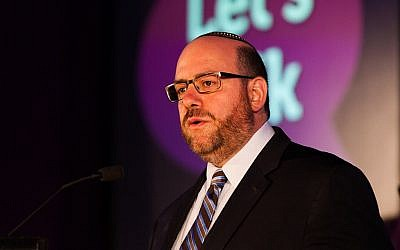 Rabbi Steven Wernick, CEO of the United Synagogue of Conservative Judaism. (Mike Diamond Photography)