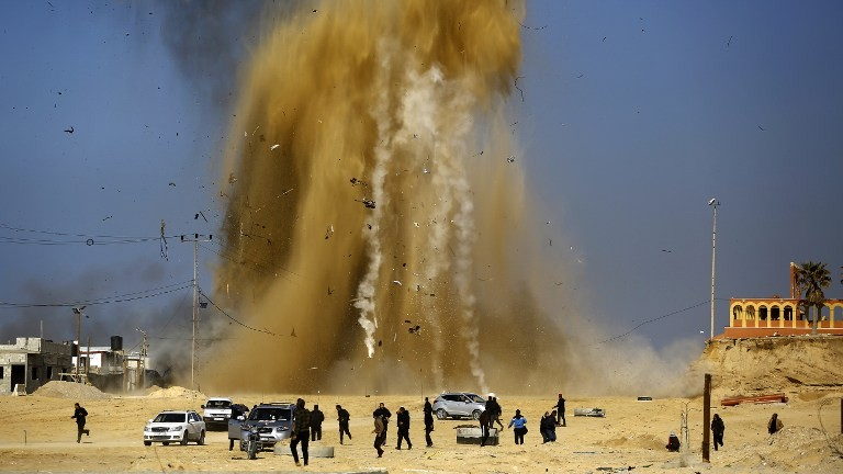 Israeli defense minister says rockets fired from Gaza 'made by Iran'