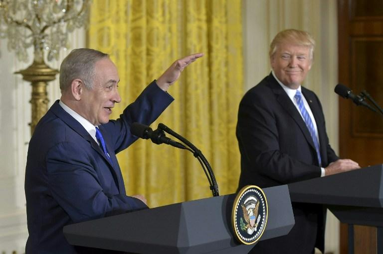 d5f665f48d4e86 US President Donald Trump and Israeli Prime Minister Benjamin Netanyahu