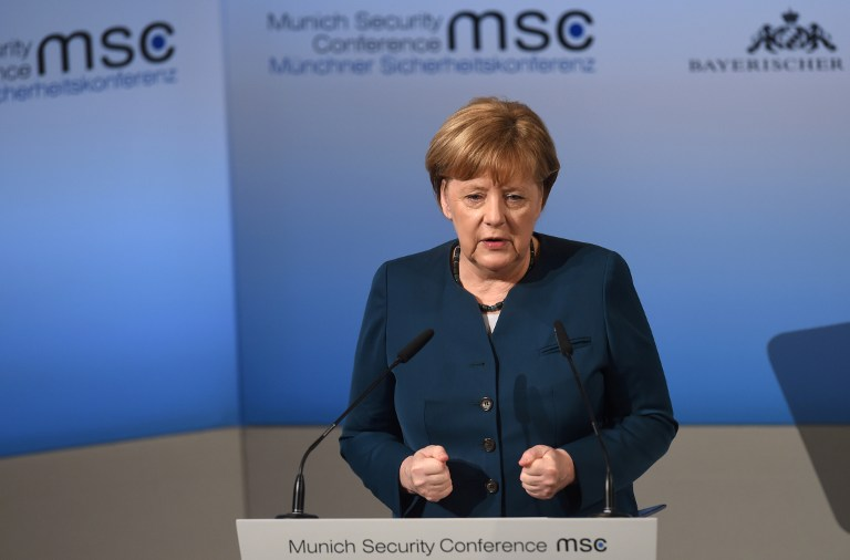Image result for Munich Security Conference, Merkel, Pictures