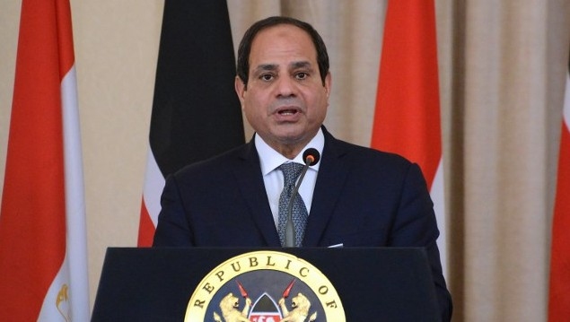 Egypt's Sisi meets Israeli PM at United Nations for first public talks