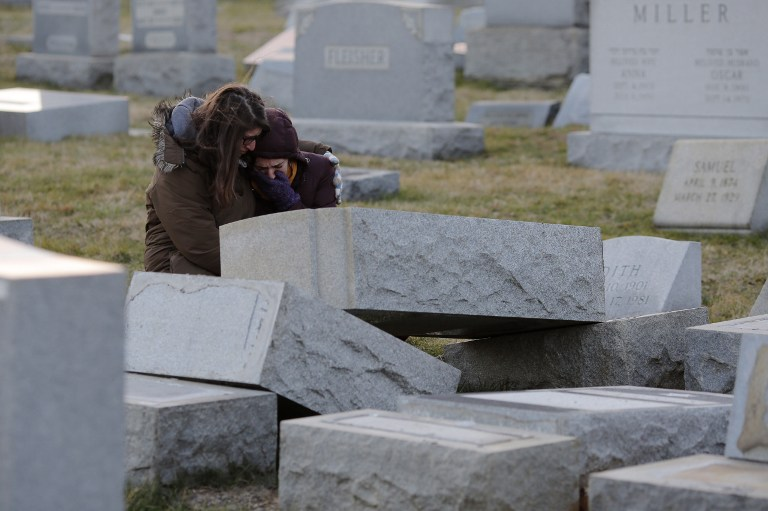 Dozens Of Gravestones Toppled At Philadelphia Jewish Cemetery The
