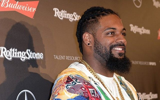 NFL player Cameron Jordan at the Rolling Stone Live: Houston presented by Budweiser and Mercedes-Benz on February 4, 2017 in Houston, Texas. Gustavo Caballero/Getty Images for Rolling Stone/AFP)