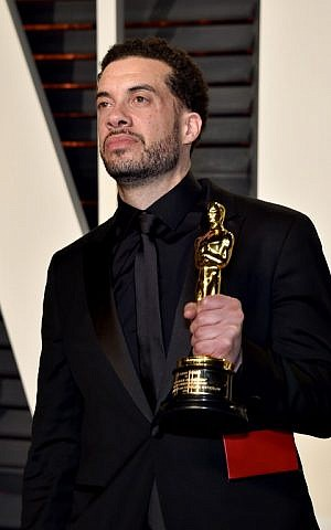 Filmmaker Ezra Edelman attends the 2017 Vanity Fair Oscar Party hosted by Graydon Carter at Wallis Annenberg Center for the Performing Arts on February 26, 2017 in Beverly Hills, California. (Pascal Le Segretain/Getty Images/AFP)