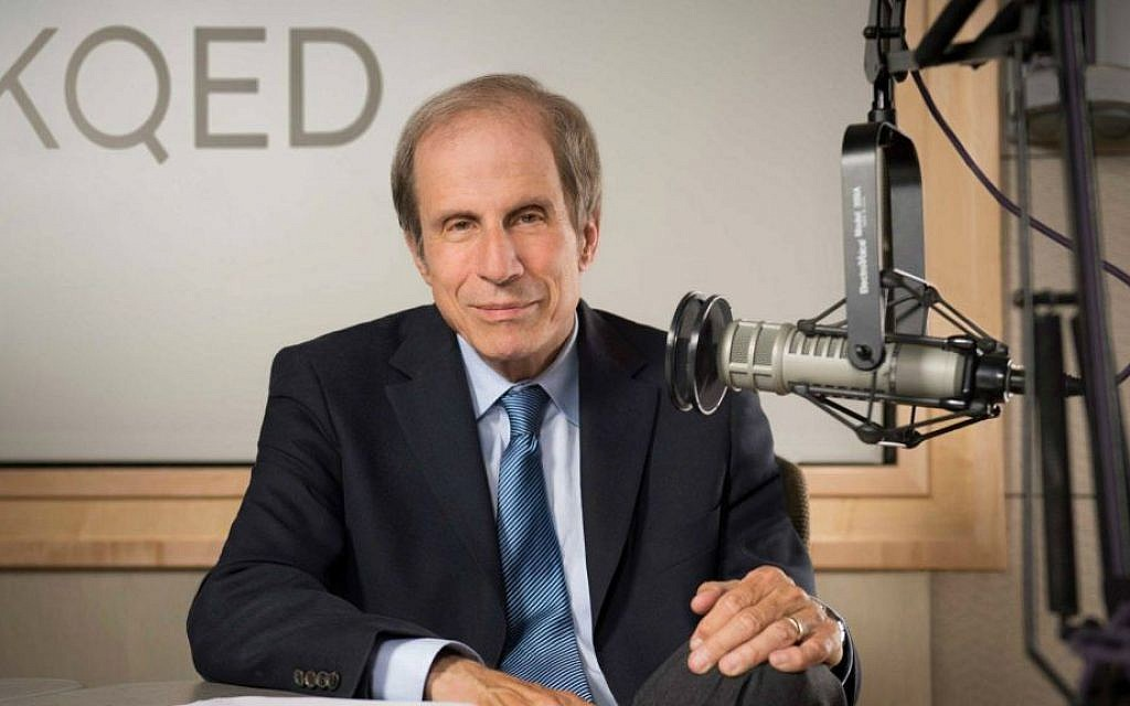 Michael Krasny, KQED Radio host and author of ' Let There Be Laughter' (KQED)