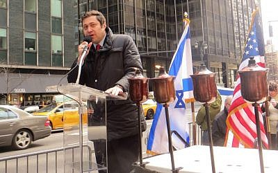 Democratic district leader of the 45 Assembly District in Brooklyn, Ari Kagan. The 45 district contains a large and influential Russian-Jewish population. (Courtesy)