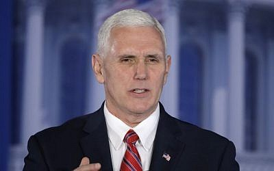 Vice President Mike Pence speaks at the Republican congressional retreat in Philadelphia, Thursday, Jan. 26, 2017. (AP Photo/Matt Rourke)