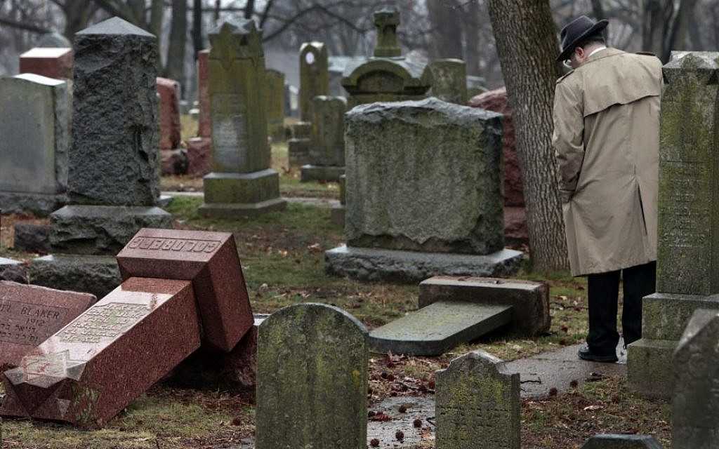 Man Admits Toppling More Than 100 Headstones In St Louis Jewish