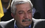 Mahmoud al-Aloul, member of the Central Committee of Fatah. (Issam Rimawi/Flash90)