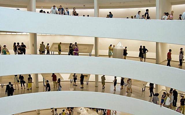 The Guggenheim Museum, New York. (Wikipedia/Wallygva/CC BY-SA 3.0)