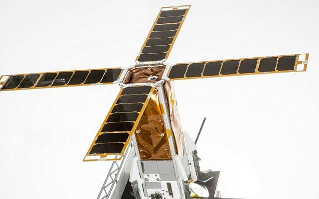 Israel Aircraft Industries' nanosatellite BGUSAT. (Courtesy IAI)