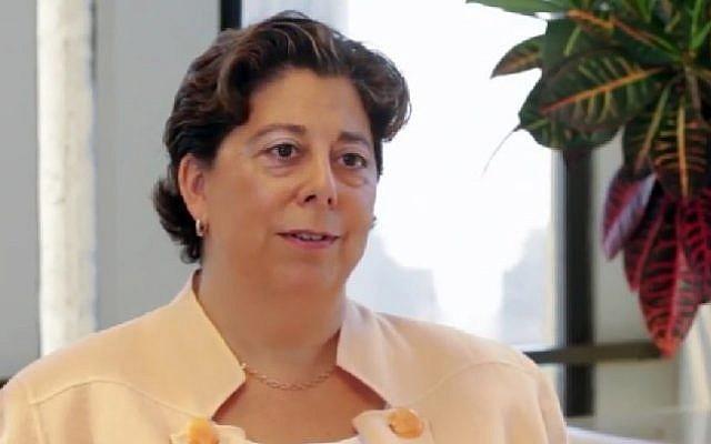 NIF Vice President of Finance Jennifer Gorovitz. (Screenshot)