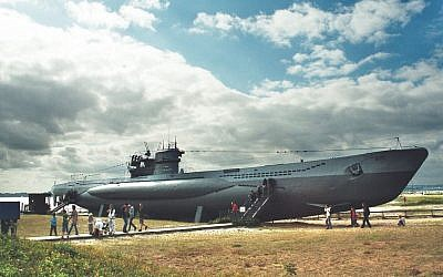 Illustrative image of WWII U-995: Type VIIC/41 diesel-electric submarine (CC BY Dguendel, Wikimedia commons)