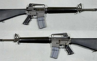 An M-16A2 assault rifle. (Swedish Army Museum/Wikimedia)