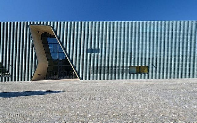 The Museum of the History of Polish Jews, in Warsaw, Poland. (CC-BY-SA: Adrian Grycuk/Wikimedia)