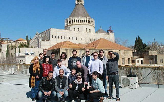 Founders & Coders first group of students in Nazareth (Courtesy)