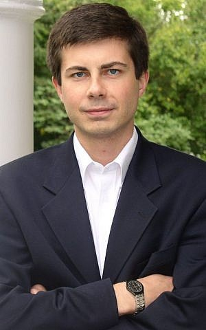 Mayor of South Bend, Indiana Pete Buttigieg (CC BY Pete Buttigieg's campaign website, Wikimedia commons)