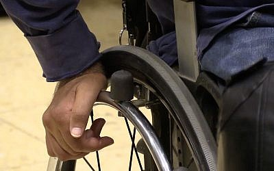 Israel is a world leader in the field of assistive technology, which helps disabled people cope with their environment. (Iacopo Luzi/Times of Israel)