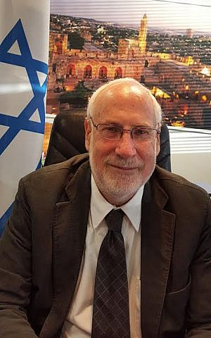 Ze'ev Boker, Israel's ambassador to Ireland. (Courtesy)