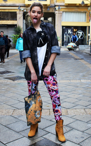 The alternative clothing made by Romi Eff for Agoraphobix, sold at xxx Courtesy Agoraphobix)
