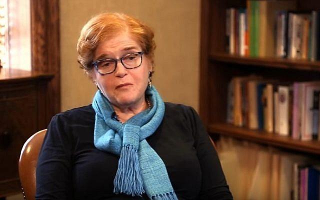 Deborah Lipstadt (YouTube screenshot)