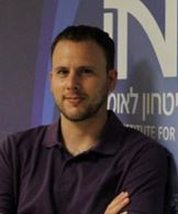 Aviad Mendelboim, a researcher at the Insitute for National Strategic Studies in Tel Aviv. (INSS)