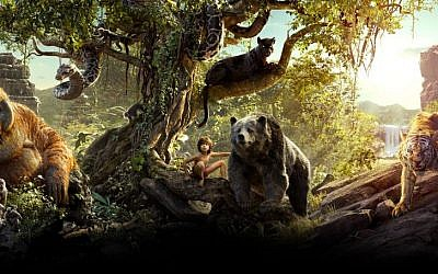The live action remake of 'The Jungle Book' won a 2017 Oscar for its visual effects, and with some help from Israel's Mellanox Technologies (Courtesy 'The Jungle Book')