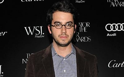 Jonathan Safran Foer attends the 2011 WSJ Magazine Innovator of the Year Awards at the Museum of Modern Art on October 27, 2011 in New York City. (Photo by Fernando Leon/Getty Images via JTA)